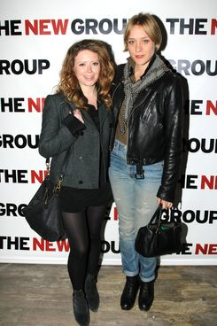 "Natasha Lyonne and Chloe Sevigny pose at the Opening Night of ""Clive"" at West Bank Cafe on February 7, 2013 in New York City."