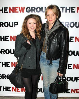 Natasha Lyonne and Chloe Sevigny pose at the Opening Night of