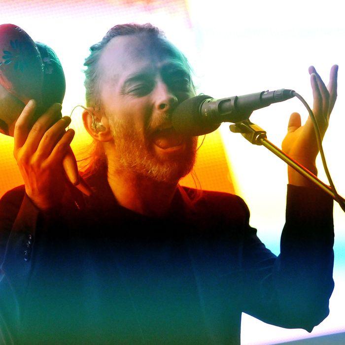 Radiohead Perform At The 02 Arena