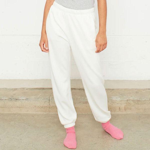 Entireworld Women's Type C Sweatpants (White)