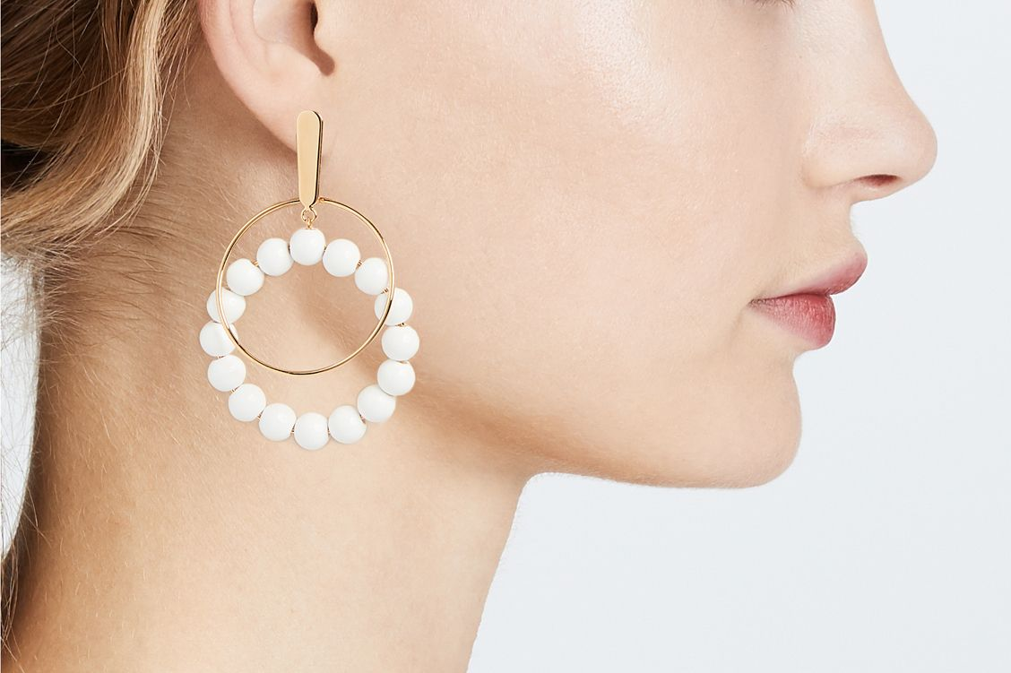 Marni Sphere Clip On Earrings