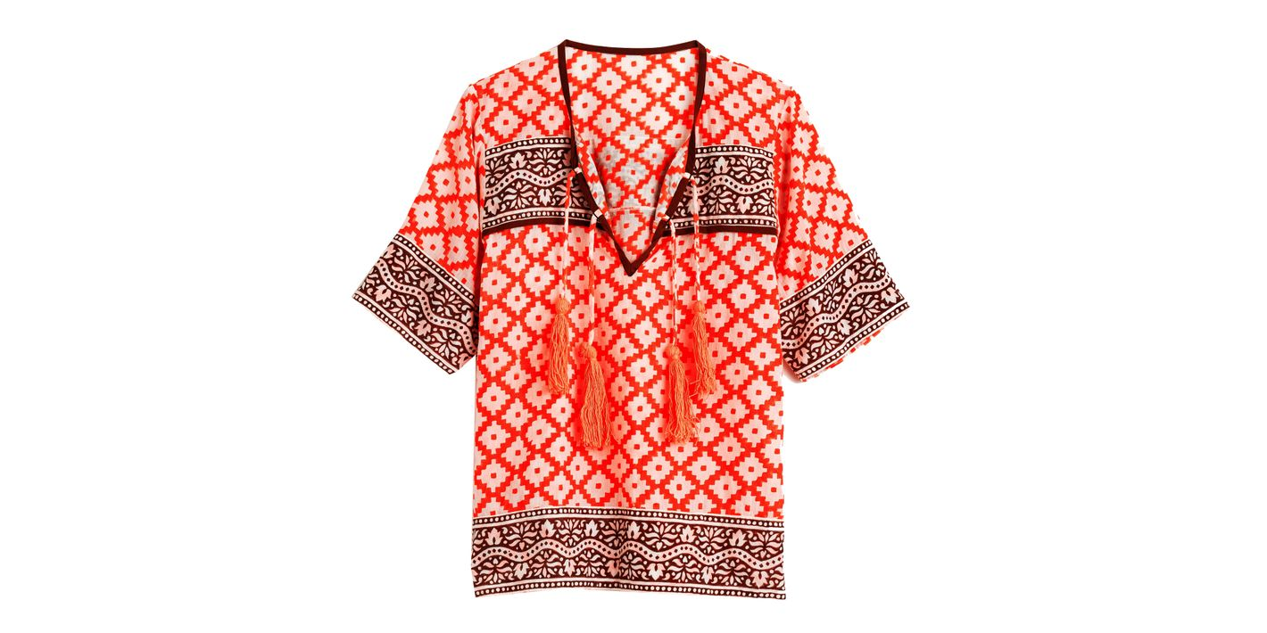 SZ Blockprints for J.Crew Tunic