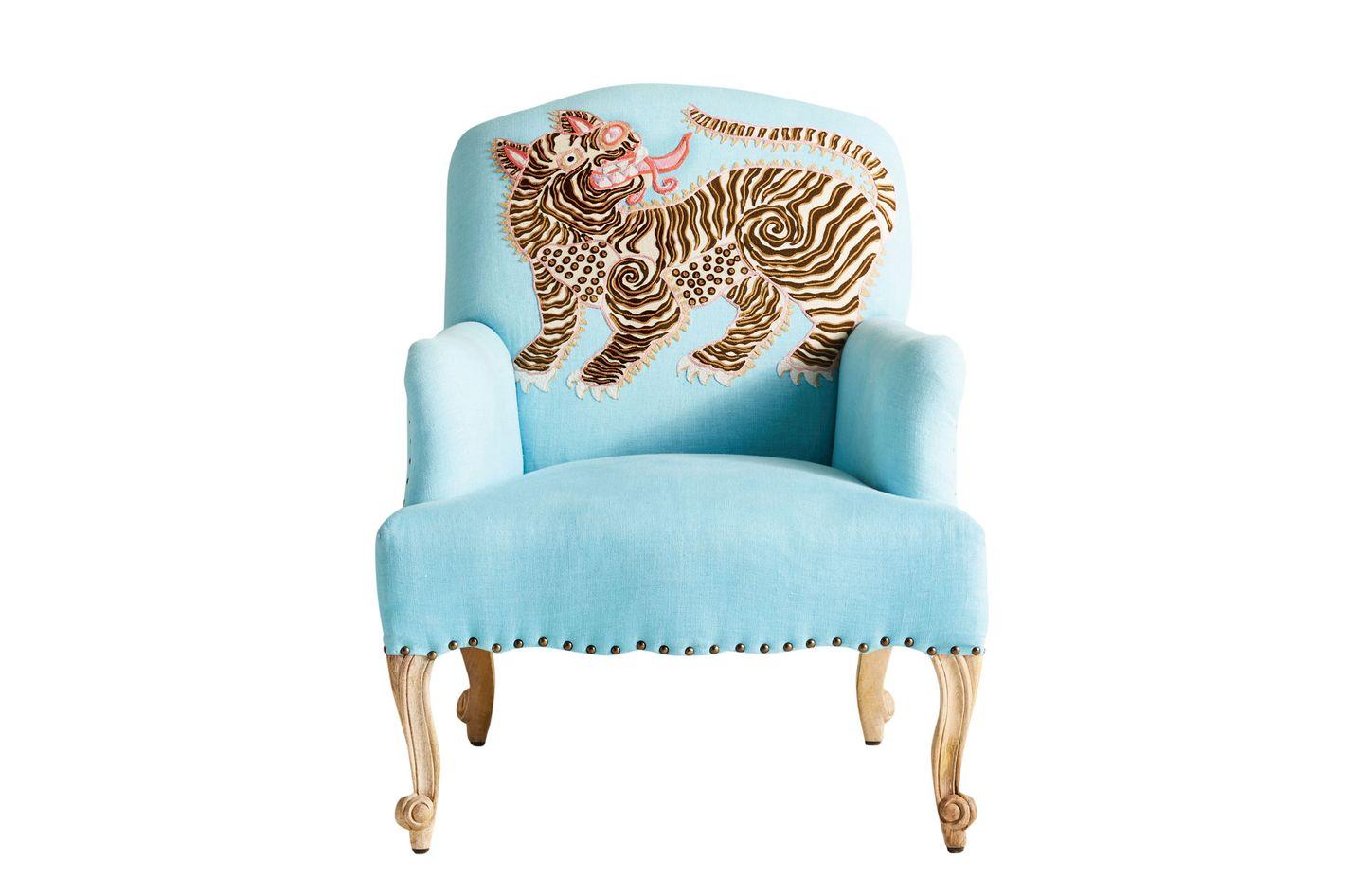 Paige Gemmel appliqué chair