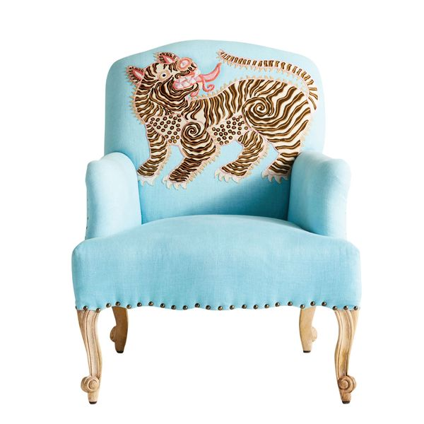 Paige Gemmel appliqué chair
