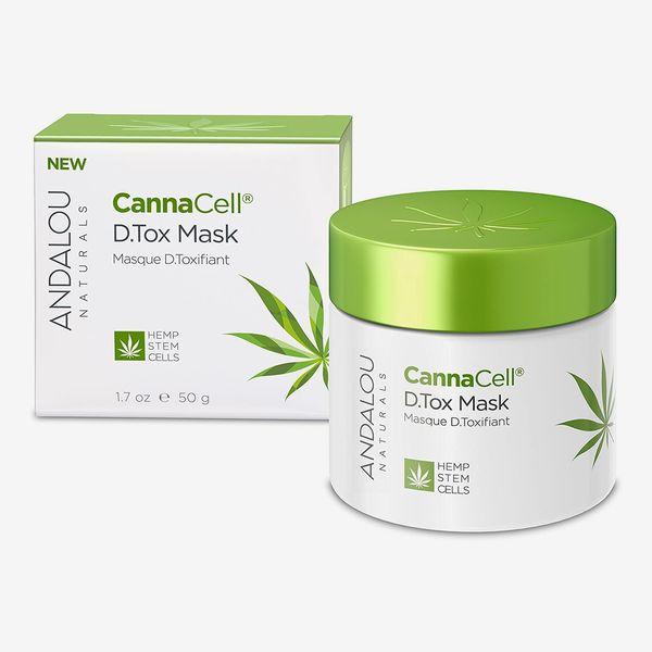 Andalou Naturals Cannacell D Tox Facial Mask