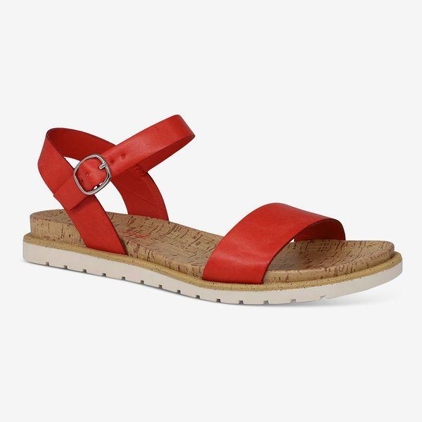 Sun + Stone Mattie Flat Sandals