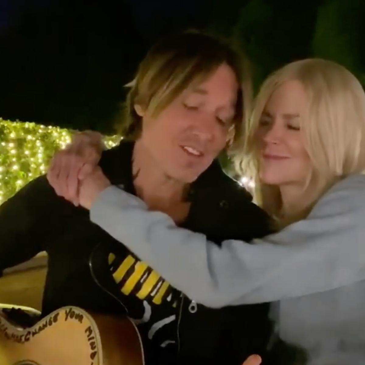 Watch Keith Urban And Nicole Kidman Sing New Christmas Song