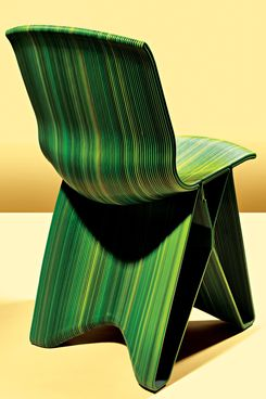 Photo Bobby Doherty/New York Magazine & Best Bet: Sculptural Pulse Chair