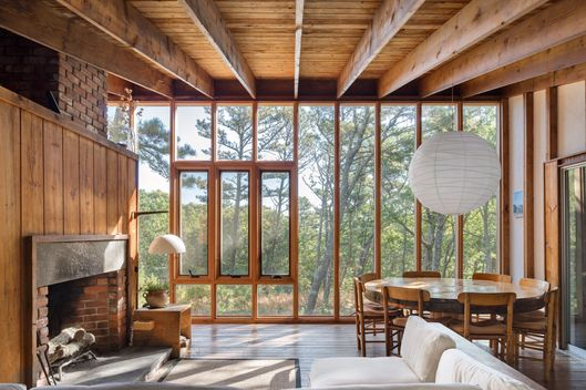 Look Inside Cape Cod S Hidden Modern Houses The Cut