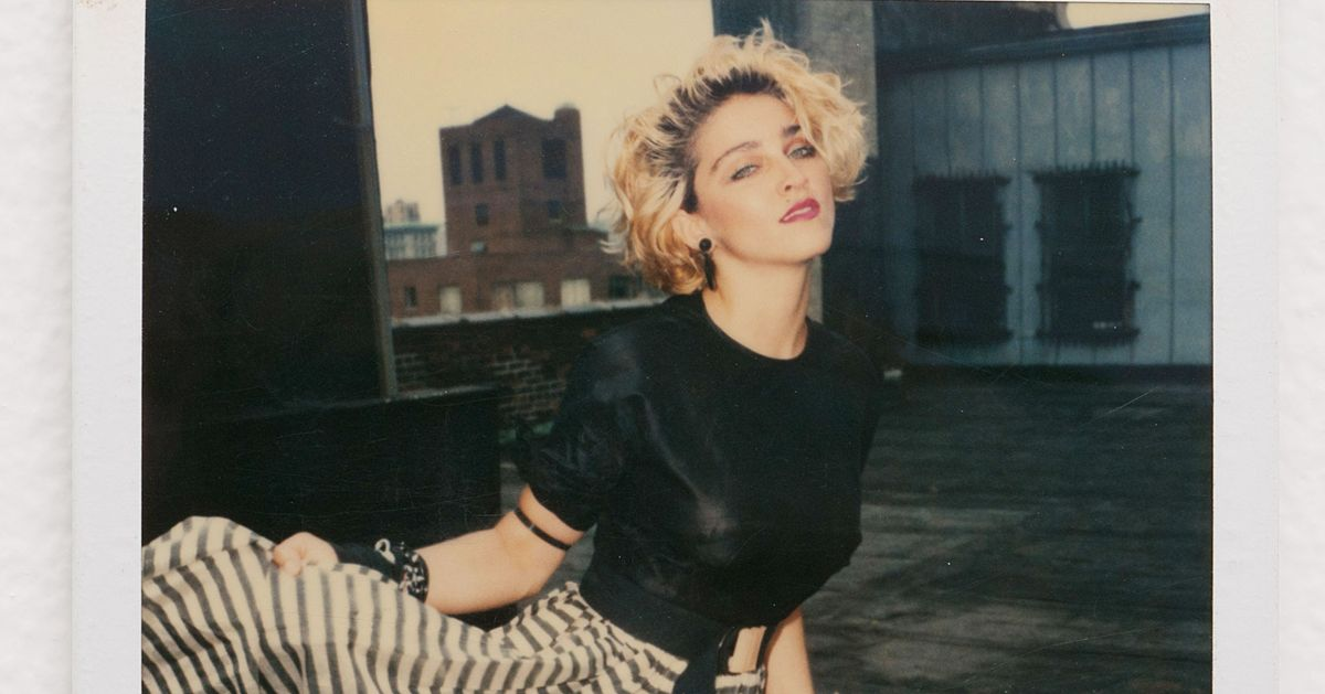 Before Madonna Was Famous, She Posed for These Polaroids