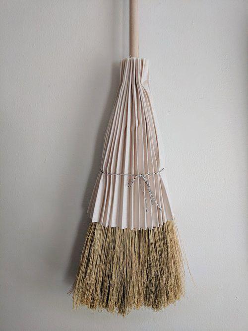 Pleated Skirt Broom