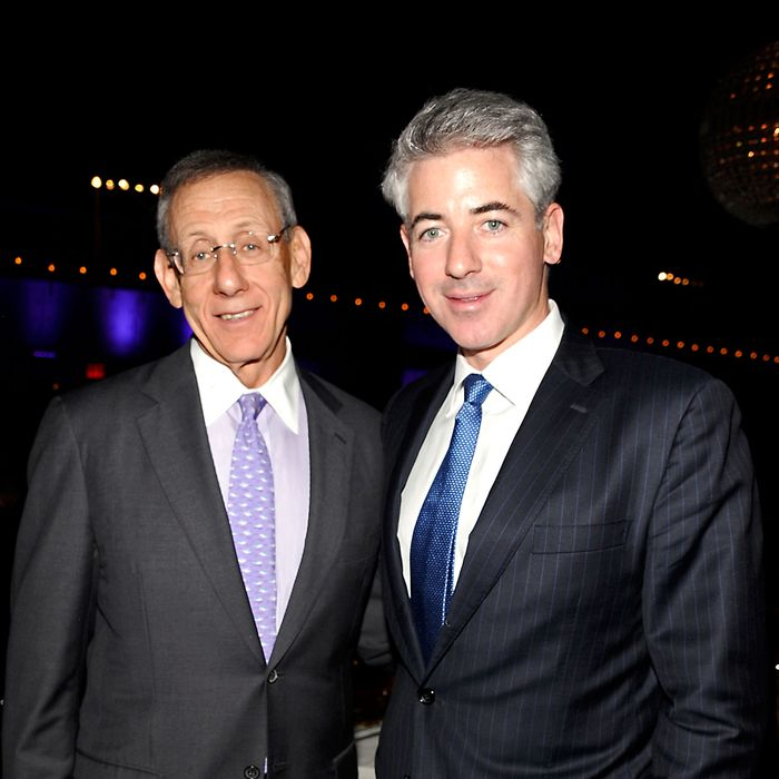 Steve Ross, Bill Ackman - 2012 High Line Spring Benefit - Hudson River Park's Pier 57, NYC - May 1, 2012