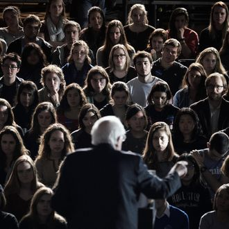 Presidential Candidate Bernie Sanders Holds Iowa Campaign Stops