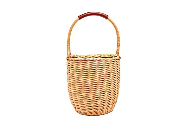 A.P.C. woven wicker bag
