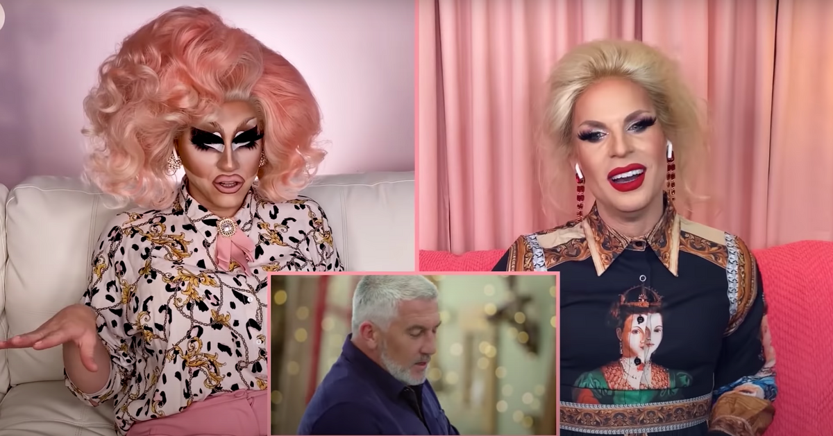 Trixie and Katya Watch Great British Baking Show, Are Horny for Paul Hollywood