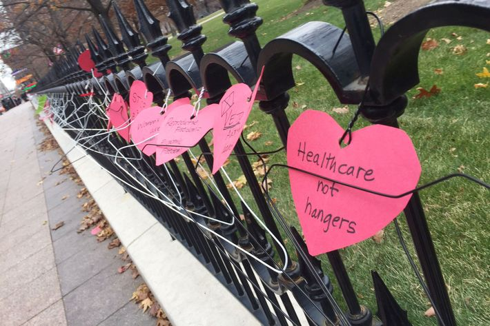 People Are Protesting Ohio\'s Abortion Ban With Coat Hangers