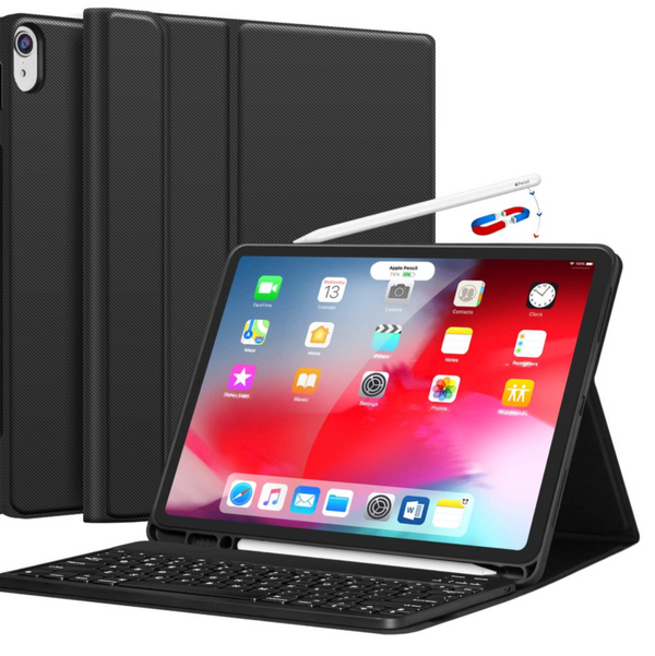Chesona iPad Pro 12.9-Inch Case with Keyboard