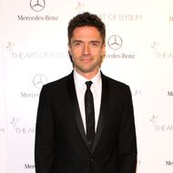 Actor Topher Grace attends The Art of Elysium's 7th Annual HEAVEN Gala presented by Mercedes-Benz at Skirball Cultural Center on January 11, 2014 in Los Angeles, California.