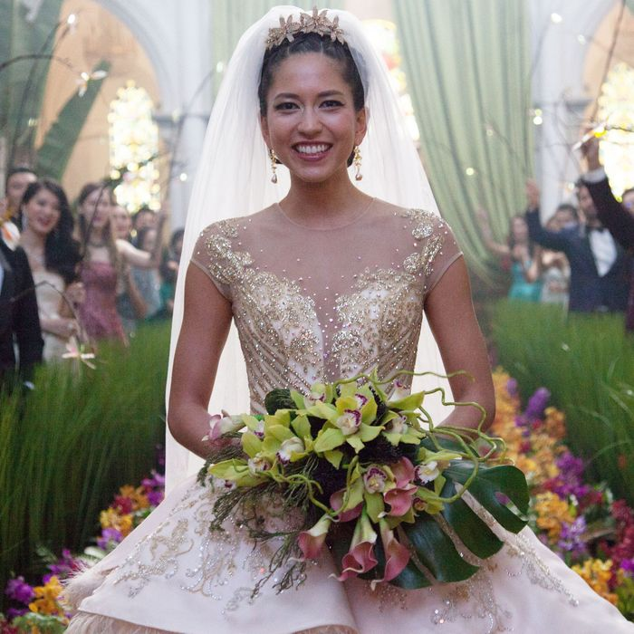 Craziest Wedding Dresses Ever Worn: Crazy Rich Asians Costume Design: 8 Key Looks
