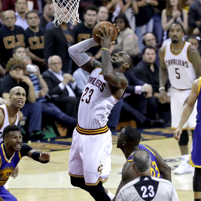 7a570d6a2c2c Because Basketball God LeBron James Has Willed It