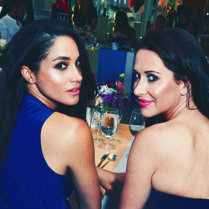 Meghan Markle and Jessica Mulroney.