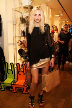 Andrej Pejic==Patricia Field Grand Opening Party==  Patricia Field NY Headquarters, NYC==May 31, 2012==?Patrick McMullan==Photo-Mireya Acierto/PatrickMcMullan.com====