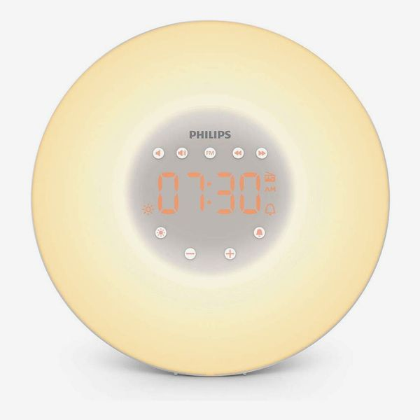 Philips Wake-Up Light Alarm Clock With Sunrise Simulation, 2 Natural Sounds and Radio