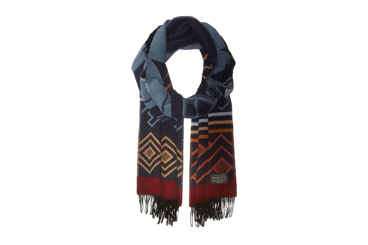 Pendleton Women's Wool Jacquard Muffler
