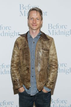 "John Cameron Mitchell attends ""Before Midnight"" New York Screening at Crosby Street Hotel on May 15, 2013 in New York City."
