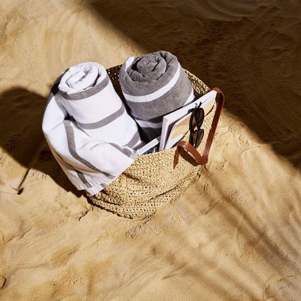 Snowe Beach Towel - Sunny Stripe