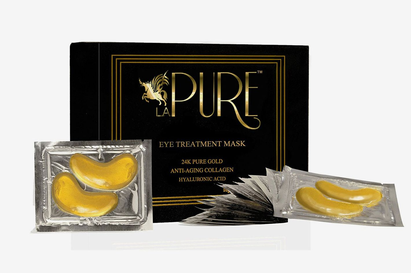 LA Pure 24K Gold Eyes Treatment Patches