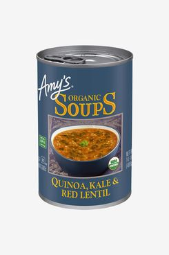 Amy's Organic Soups, Vegan, Gluten Free, Organic Quinoa, Kale & Red Lentil