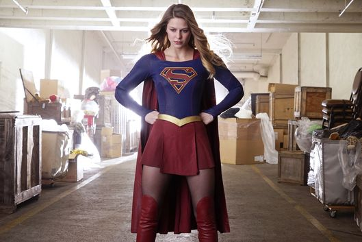 """Childish Things"" -- Kara (Melissa Benoist, pictured) does her best to support Winn when his father, the supervillain Toyman, breaks out of prison and seeks out his son for unknown reasons, on SUPERGIRL, Monday, Jan. 18 (8:00-9:00 PM, ET/PT) on the CBS Television Network. Photo: Robert Voets/CBS ©2015 CBS Broadcasting, Inc. All Rights Reserved"