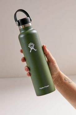 Hydro Flask Standard Mouth 24 oz Water Bottle, Green