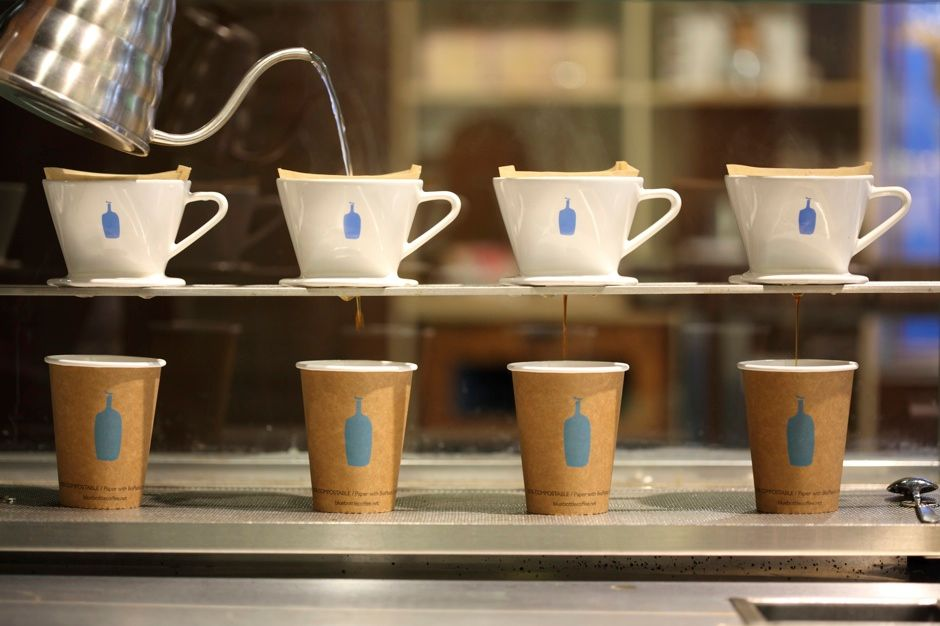 It's pour-over time, because new investors are making it rain.