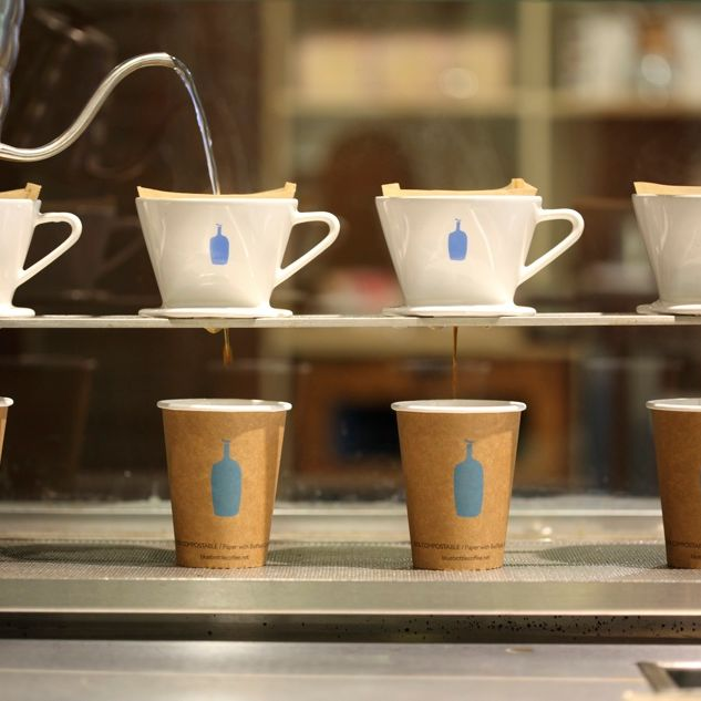 There will be pour-over.