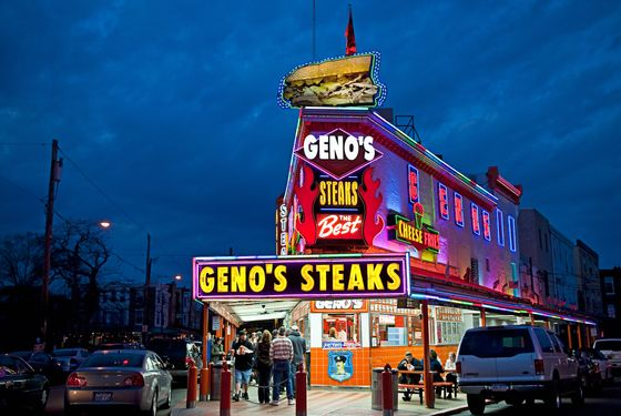 Geno's Steaks is up-to-date on its paperwork now.