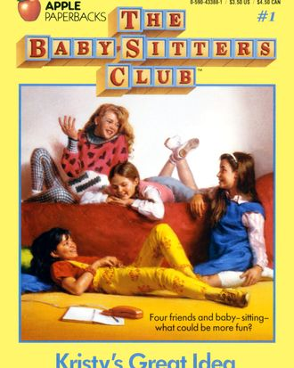A book from the Baby-Sitter's Club series, which was actually about friendship.