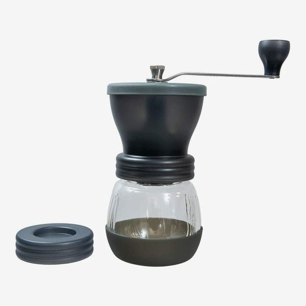 Hario Medium Glass Hand Coffee Grinder with Ceramic Burrs
