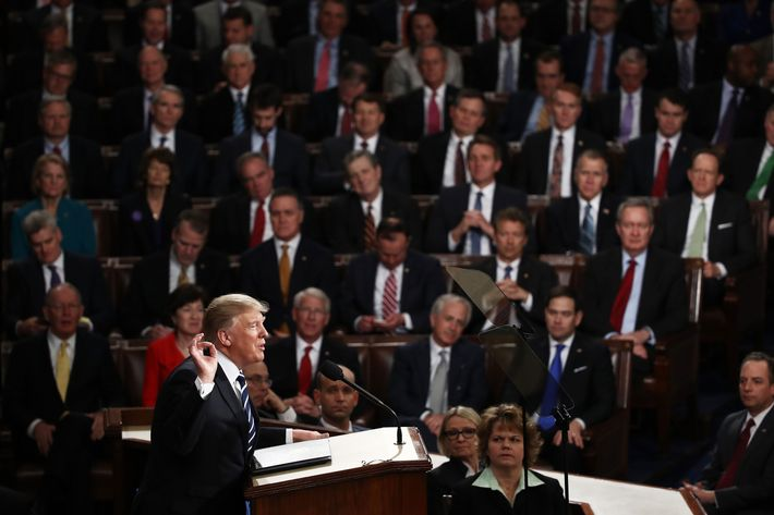 Trump gave congressional gop no guidance in his big speech Donald trump residence address