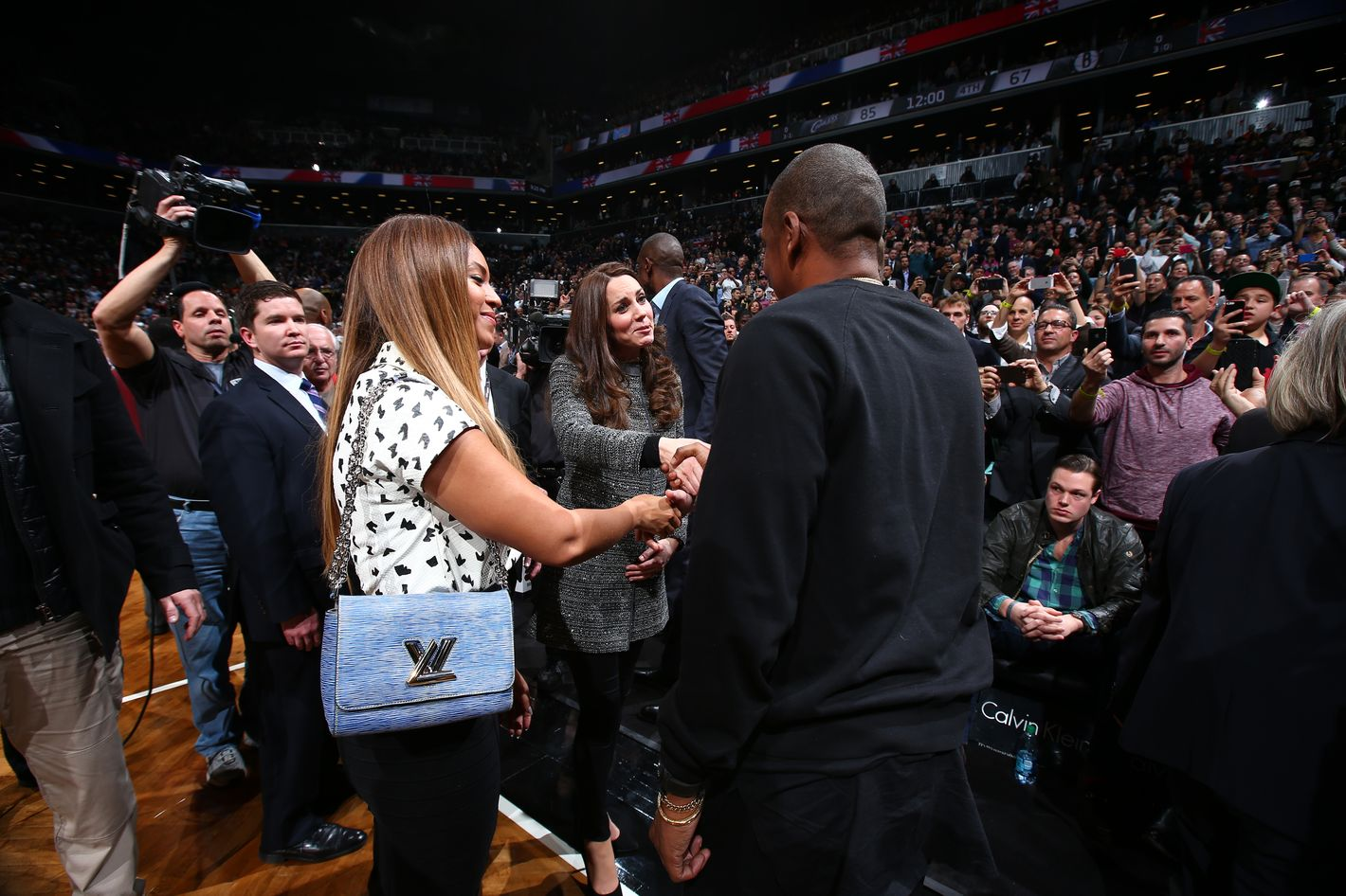 4b76c7c69 Weird Scenes From the Night Kate and William Met Beyoncé and Jay Z