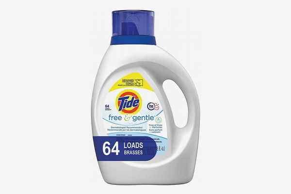 Tide Free and Gentle Laundry Detergent, 100 Ounces