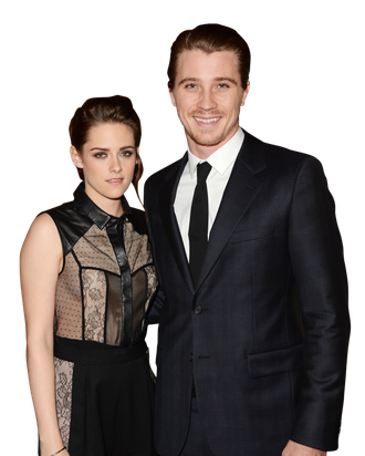 Actors Kristen Stewart and her co-star Garrett Hedlund attend a special screening of