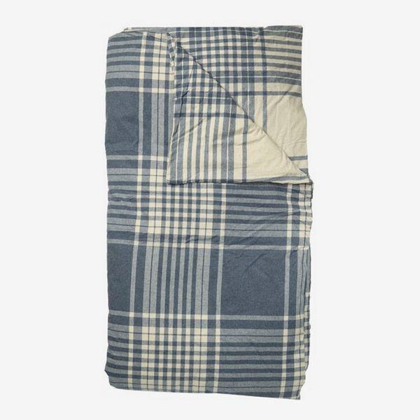 Ugg Cream Ocean solid reversible flannel queen duvet