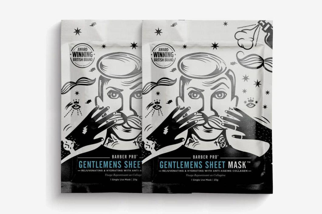 Barber Pro Gentlemen's Sheet Mask Duo