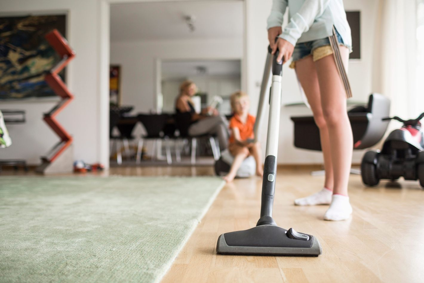 Girls Spend 40 Percent More Time On Chores Than Boys Do