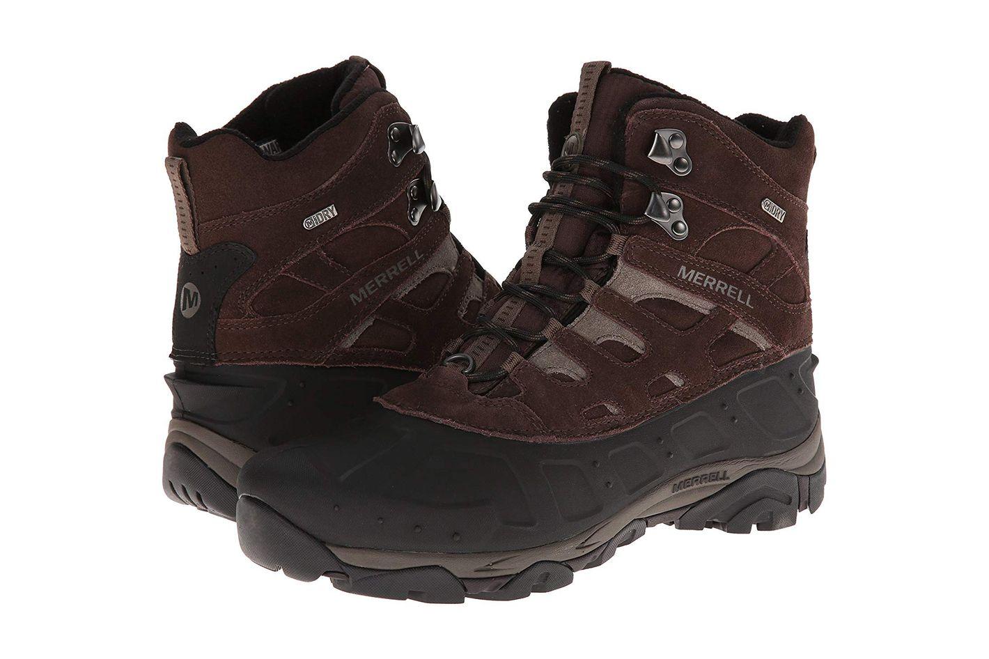 Merrell Men's Moab Polar Waterproof Winter Boot