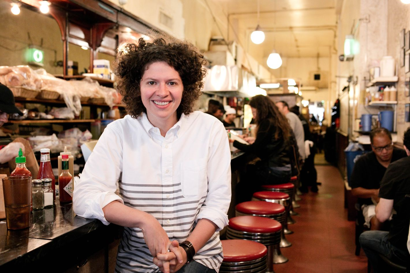 Deb Perelman Husband cookbook author julia turshen's grub street diet