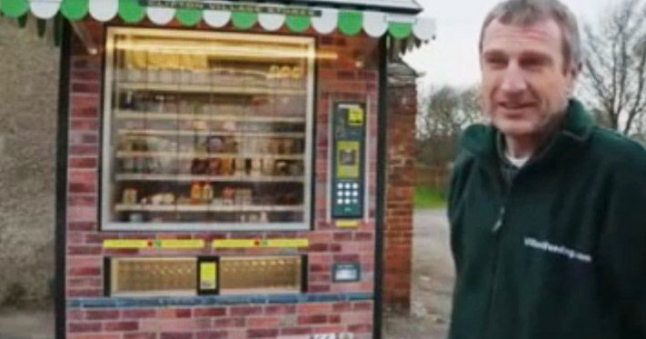 Small Town Gets Giant Vending Machine In Place of Grocery Store