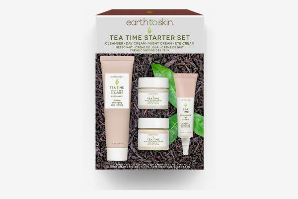 Earth to Skin Tea Time Anti Aging Starter Set